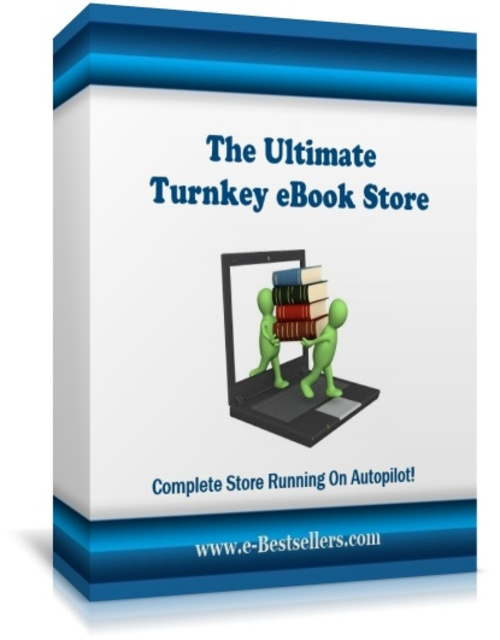 Product picture The Ultimate Turnkey eBook Store - Automated Ebook Store