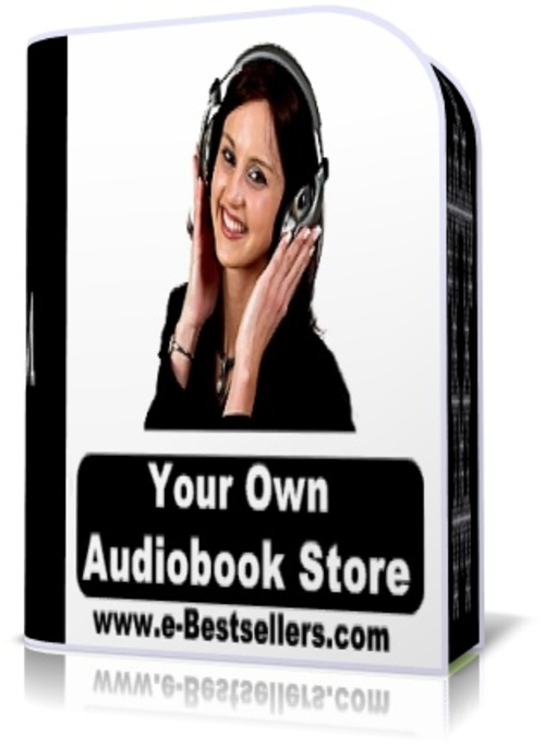 Product picture Your Own Audiobook Store
