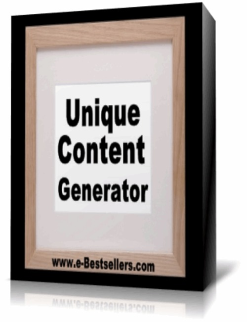Product picture Unique Content Generator