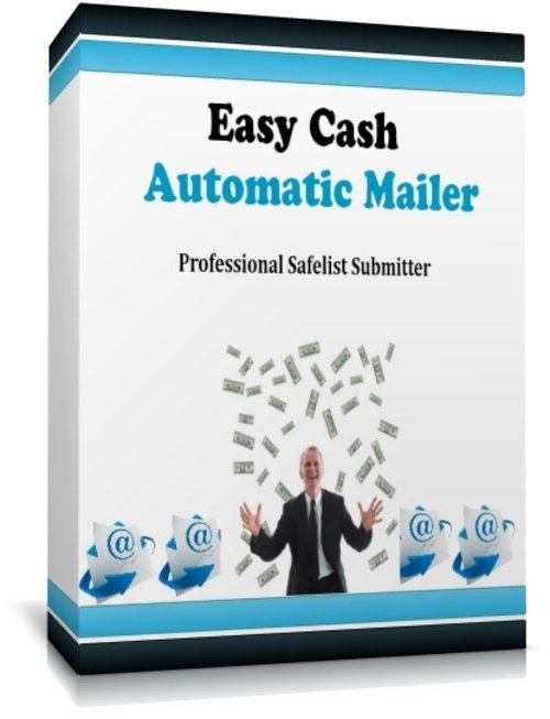Product picture Easy Cash Automatic Mailer: Professional Safelist Submitter