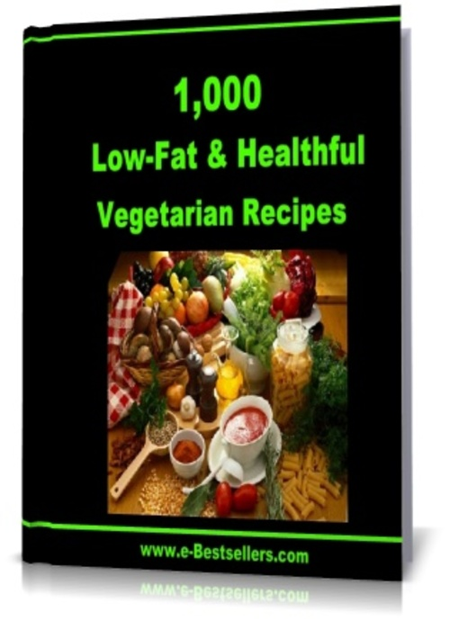 Product picture Over 1,000 Low-Fat & Healthful Vegetarian Recipes