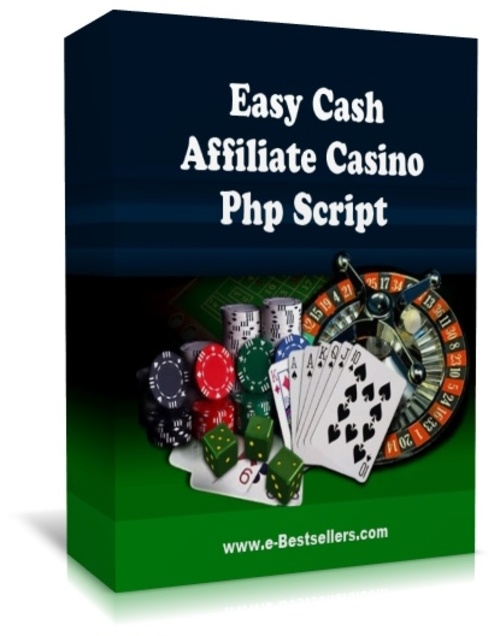 Product picture Easy Cash Affiliate Casino Php Script