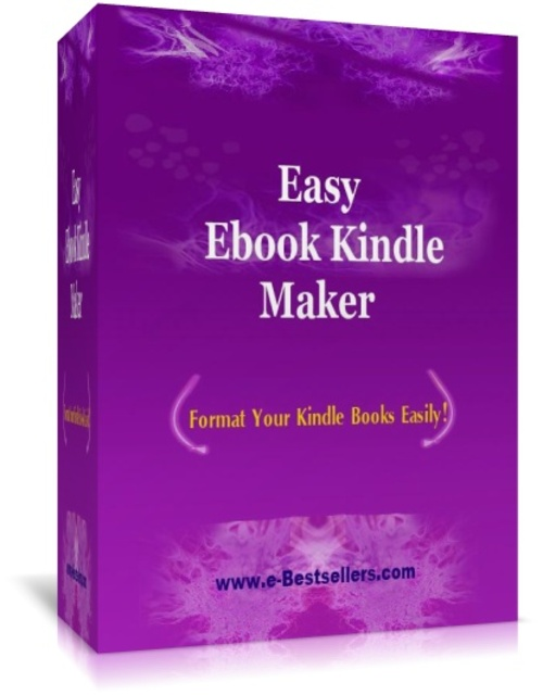 Product picture Easy Ebook Kindle Maker