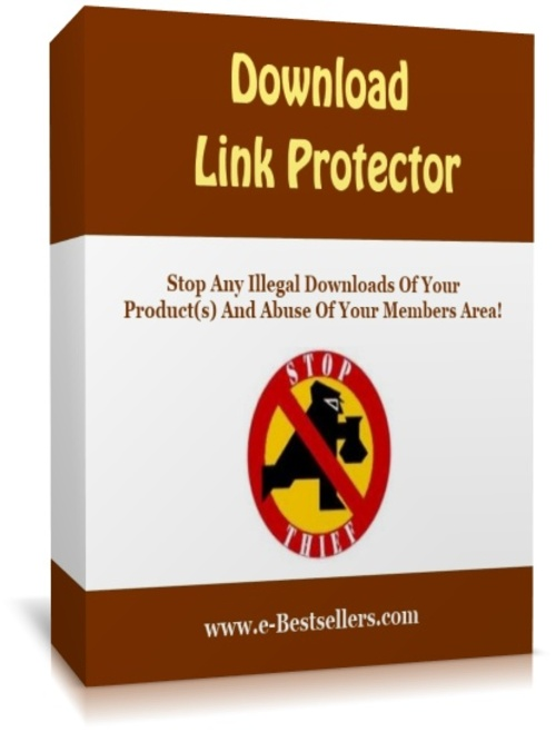 Product picture Download Link Protector