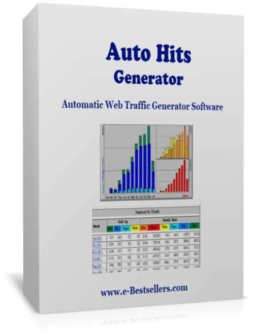 Product picture Auto Hits Generator: Automatic Web Traffic Software