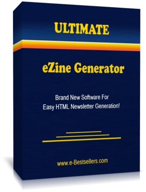 Product picture Ultimate eZine Generator