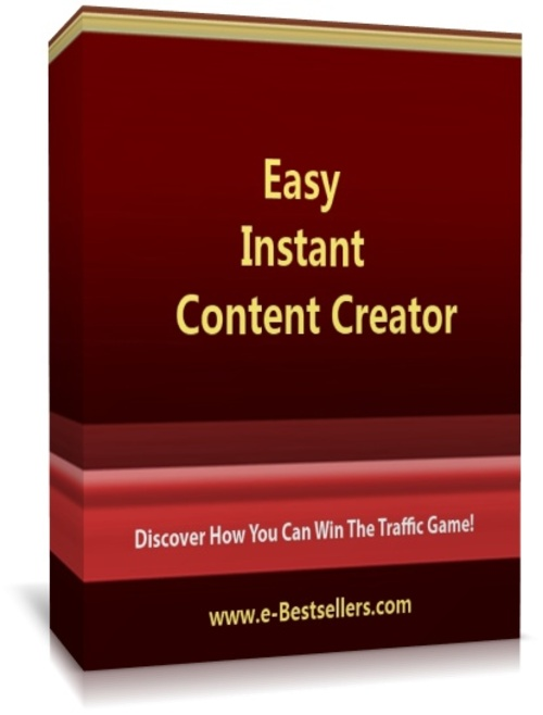 Product picture Easy Instant Content Creator: Write a Article In 7 Minutes..