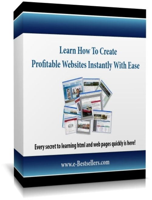 Product picture Learn How To Create Profitable Websites Instantly With Ease!