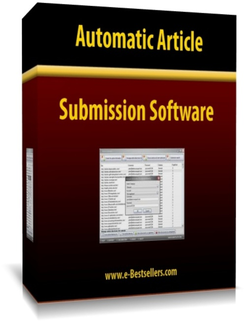 Product picture Automatic Article Submission Software