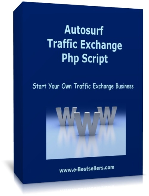 Product picture Autosurf Traffic Exchange PHP Script