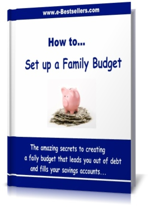 Product picture How to Set up a Family Budget