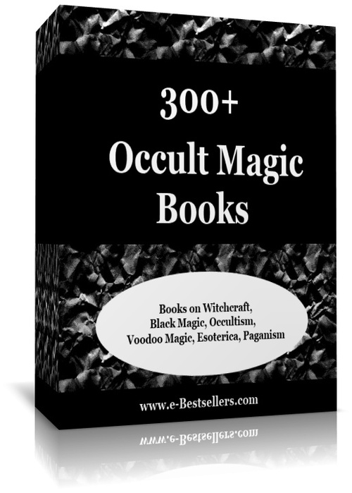 Product picture 300+ Occult Magic Books