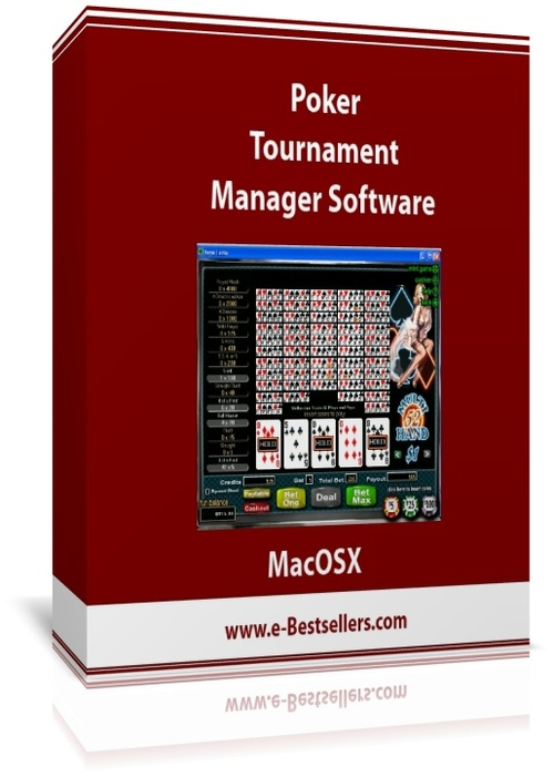 Product picture Poker Tournament Manager Software (MacOSX)