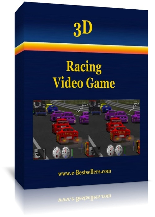 Product picture 3D Racing Video Game: A Cross-Platform Car Simulation Game